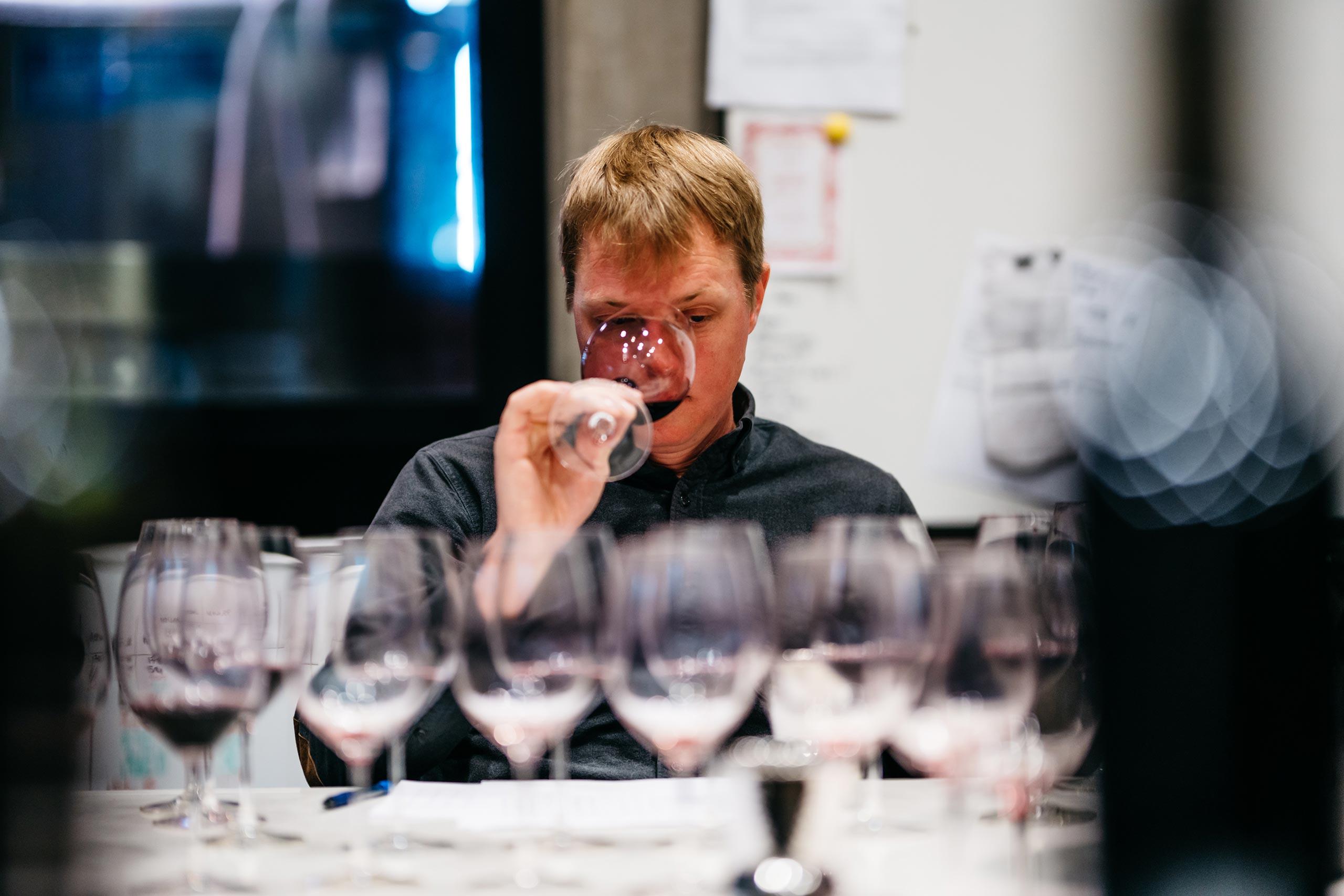 Austin tasting wine