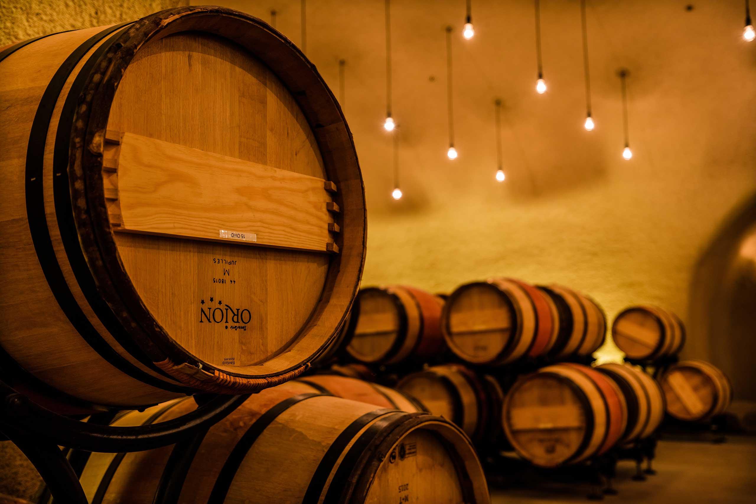 French Oak Barrel Selection