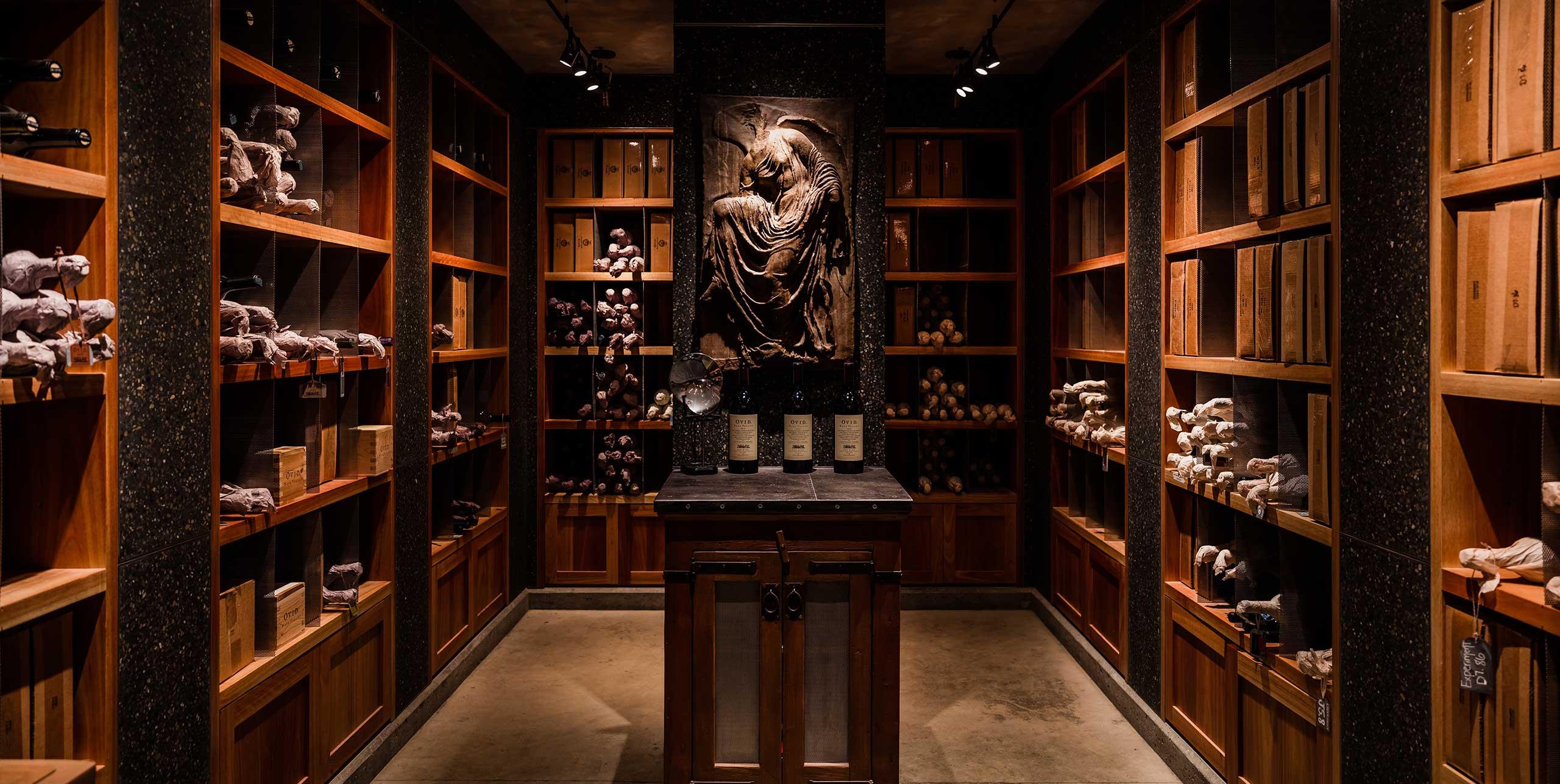 OVID wine library