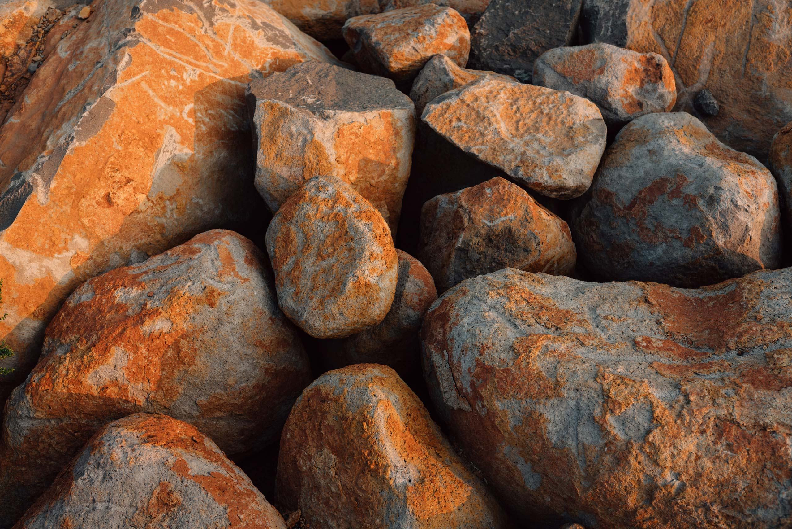 Volcanic rocks on Pritchard Hill