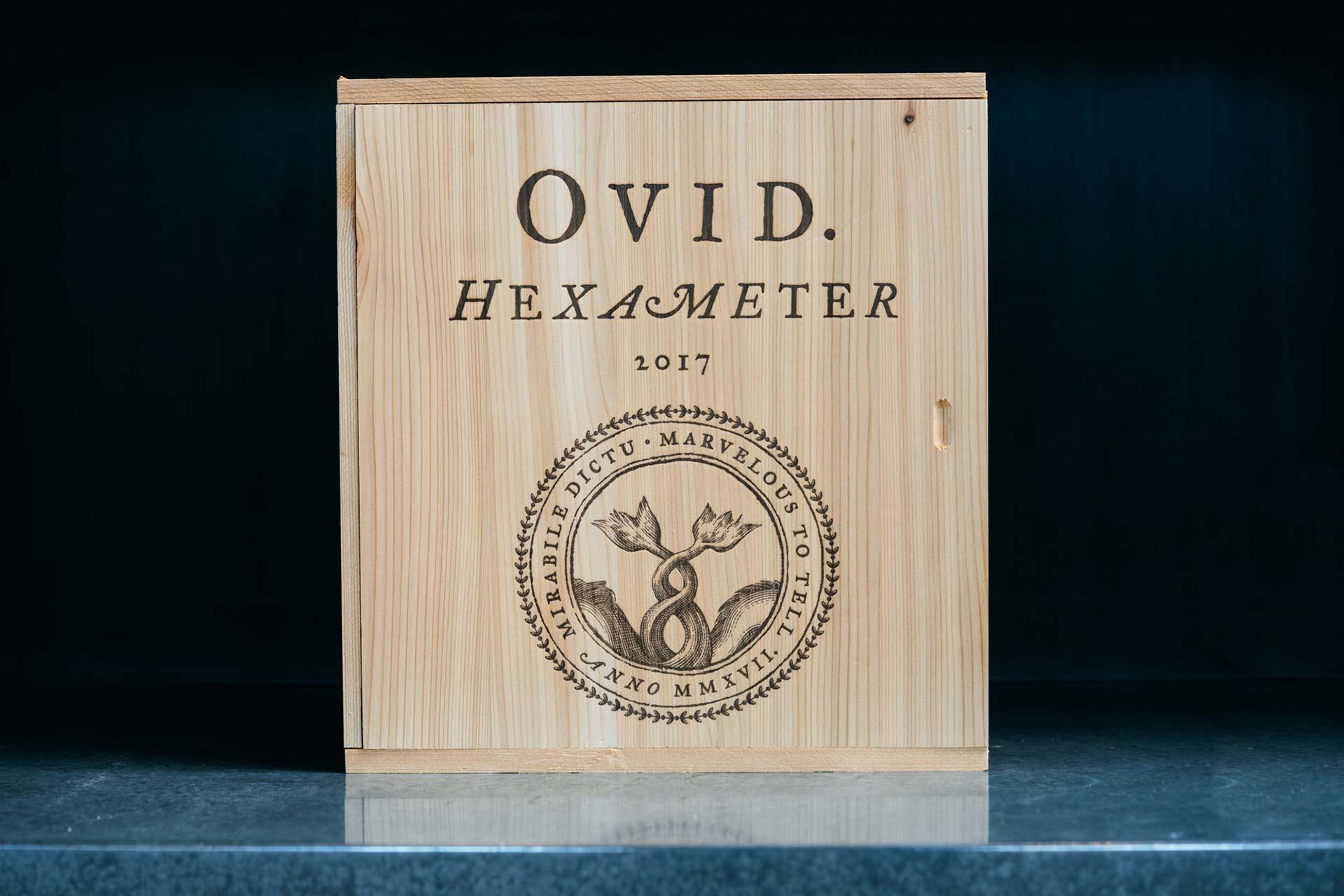 2017 OVID Hexameter in wood box