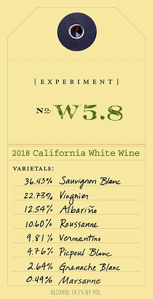 2018 White Experiment W5.8