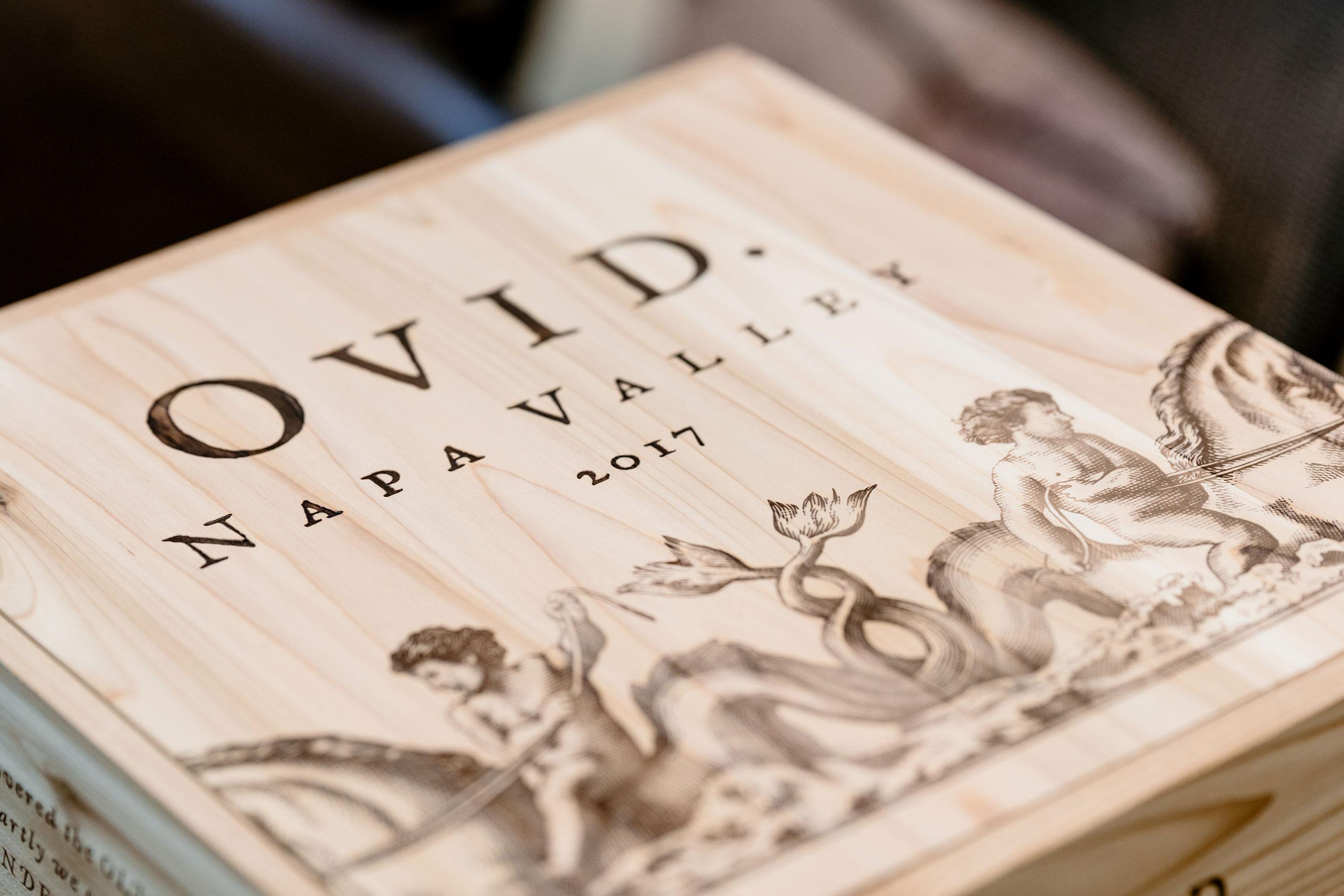 OVID Napa Valley wood box